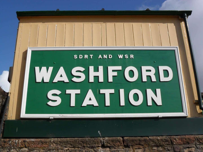 Washford Station Sign // Credit WSR
