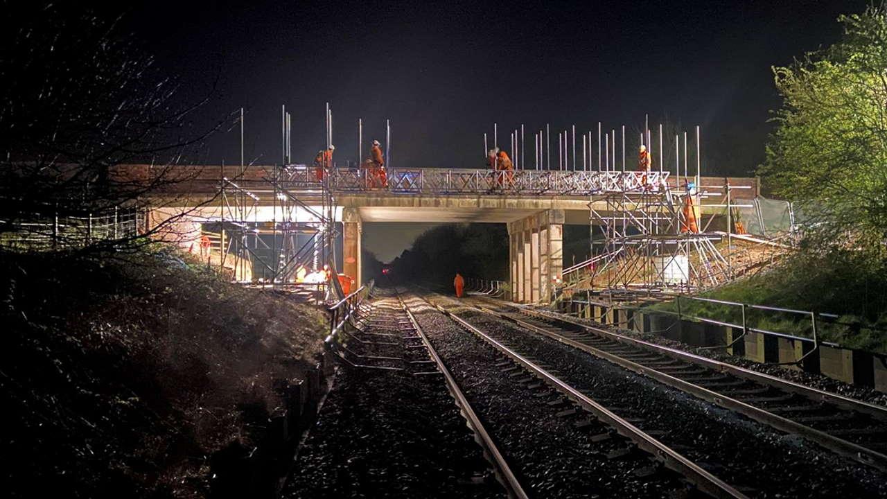 bridge in crewe
