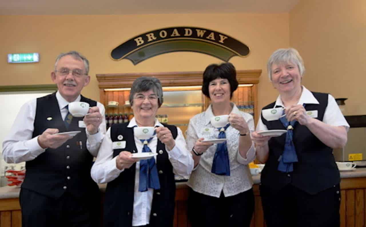 GWSR catering team donate to Tewkesbury Food Bank