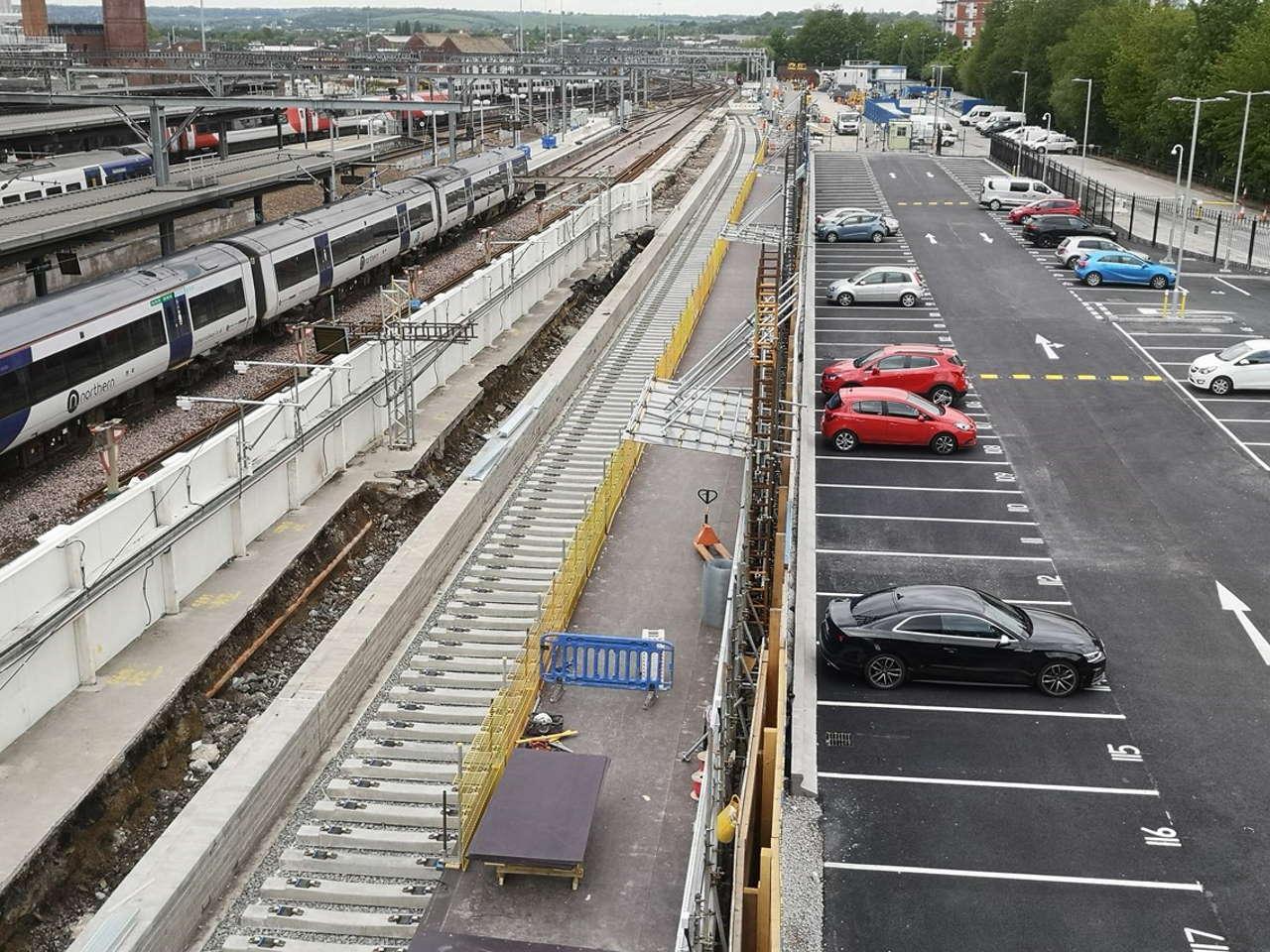 leeds station new platform