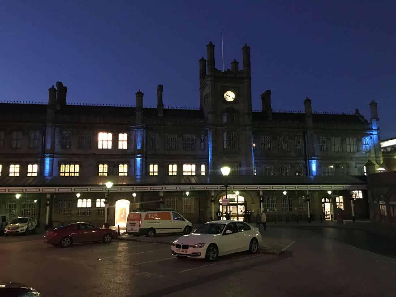 shresbury station in blue