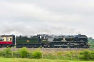 34046 Braunton on test between Crewe and Chester