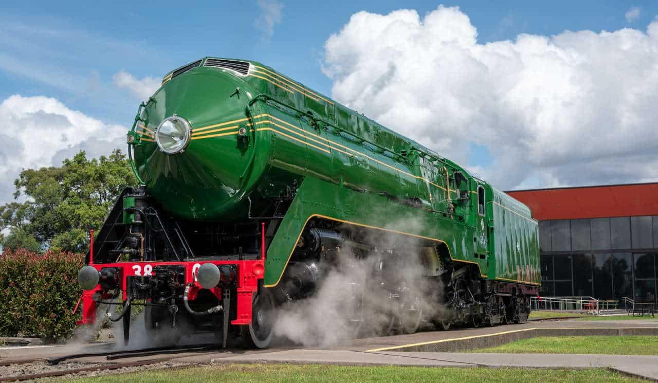 3801 in steam in Australia