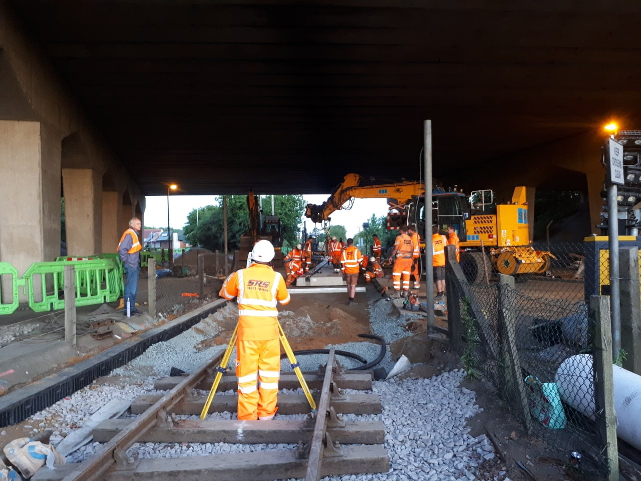 New level crossing for the mid norfolk railway