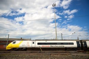 Avanti West Coast unveils face covering livery for Pendolino trains