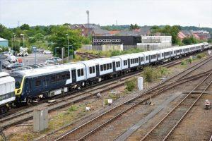 Class 701 heads for Eastleigh