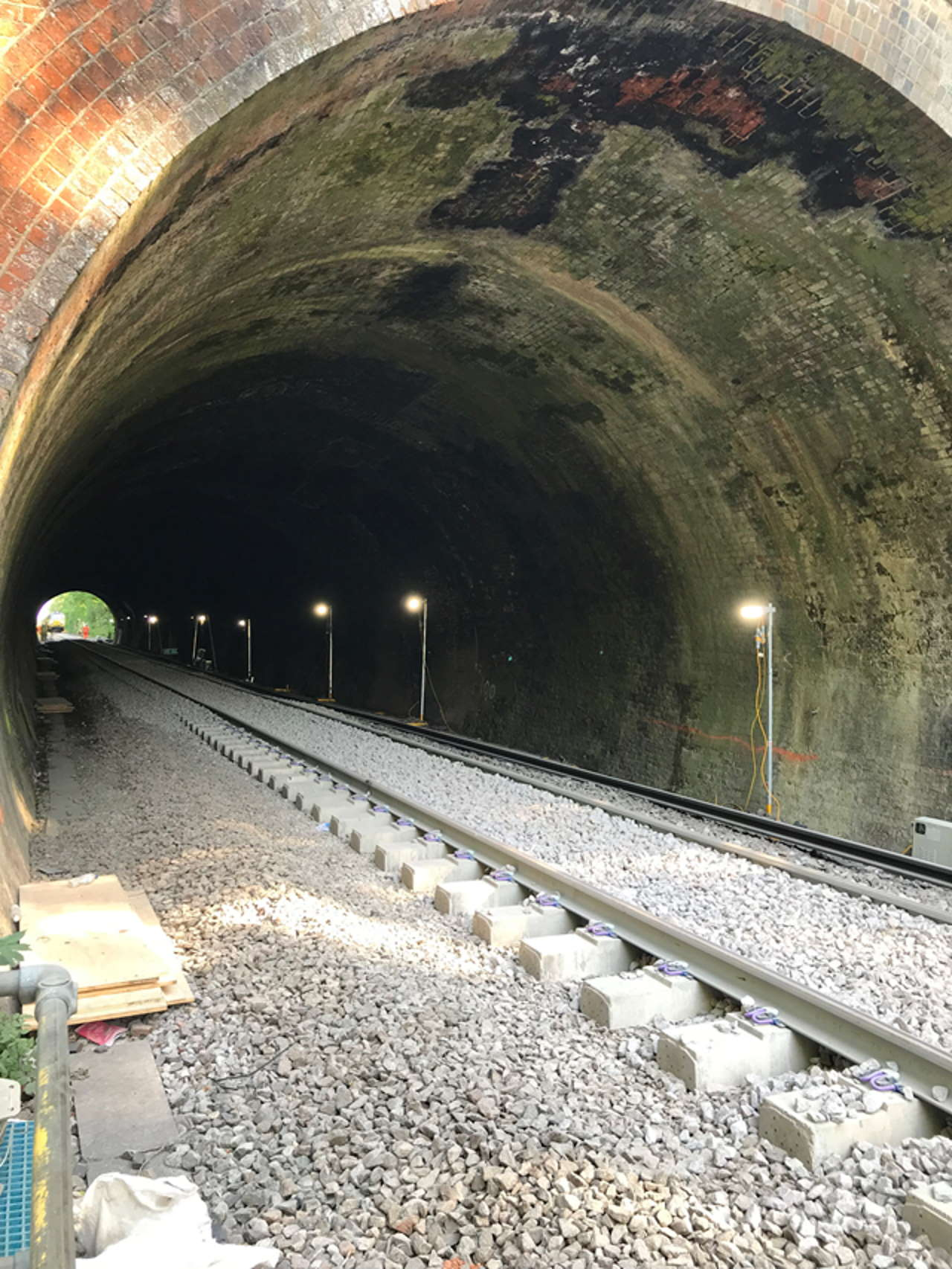 Botley Tapnage tunnel