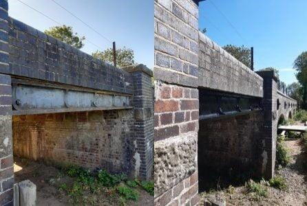 Bridge 11 Girder Side Veiw // Credit Graham Peacock