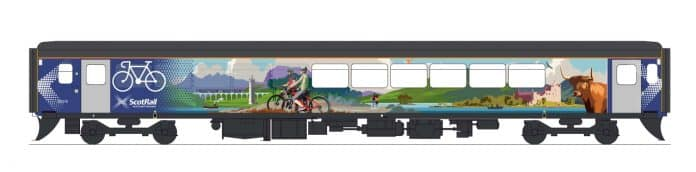 Class 153 Active Travel Carriage Livery