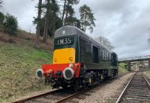 Class 20 D8188 at the Spa Valley Railway // Credit Spa Valley Railway