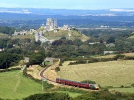 Corfe Castle and Swanage Railway // Credit Swanage Railway