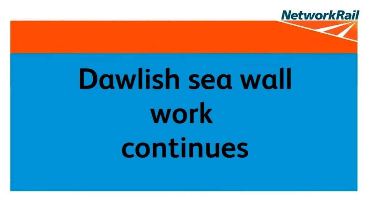 Dawlish sea wall