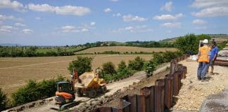 Gloucestershire Warwickshire Railway appeal for embankment landslip