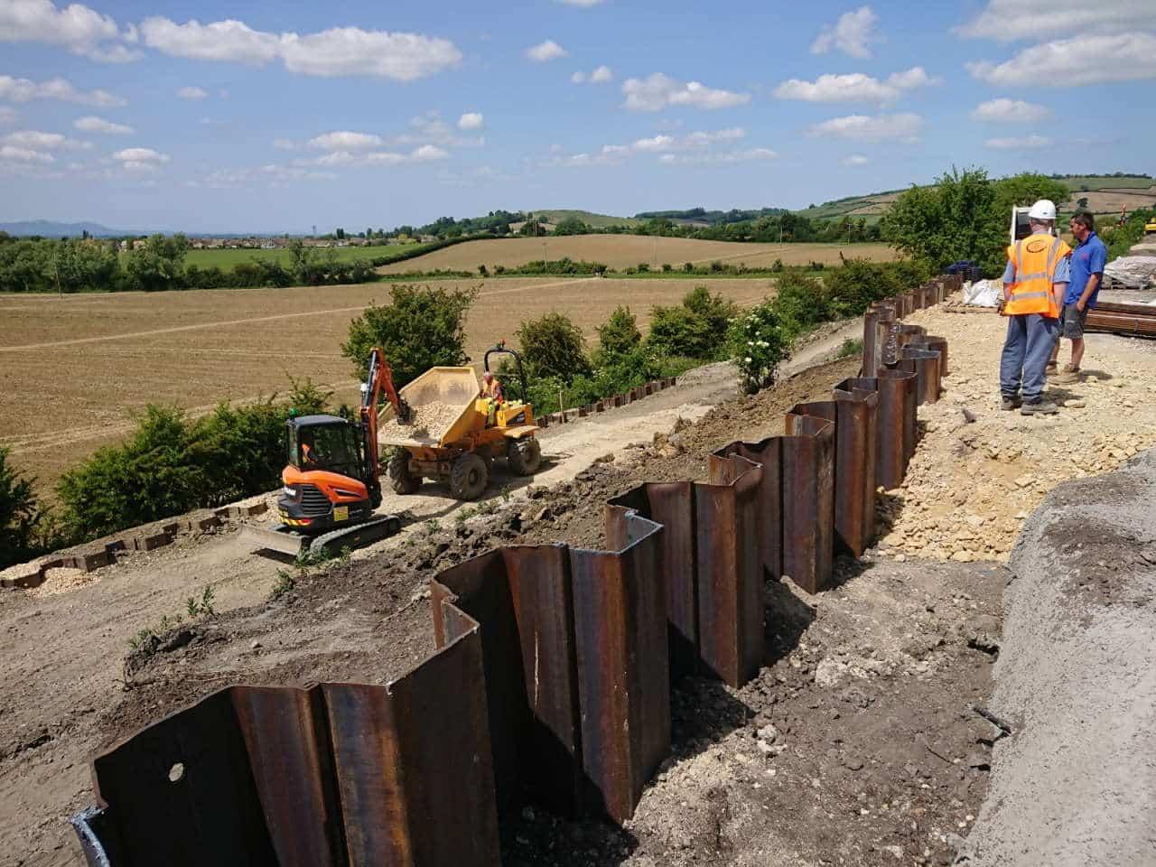 Gloucestershire Warwickshire Railway appeal for embankment landslip