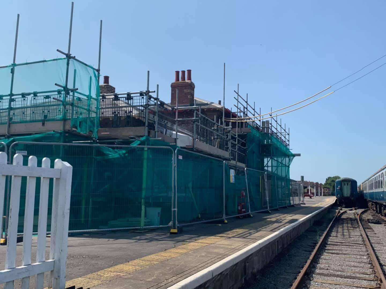 Leeming Bar Station House // Credit Wensleydale Railway