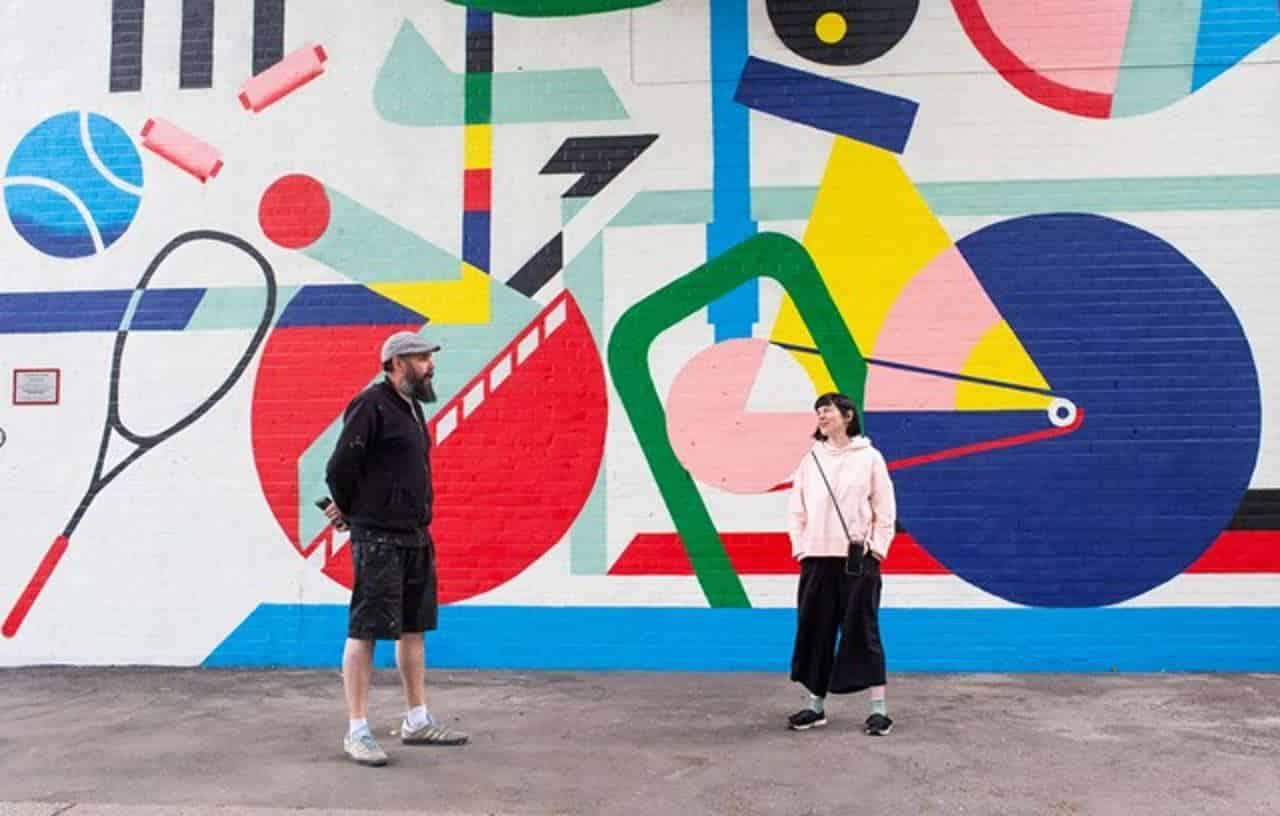 Lionel & Katrina - Dulwich mural