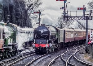 60163 Tornado on the Severn Valley Railway