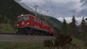 Engadin Line released for train simulator