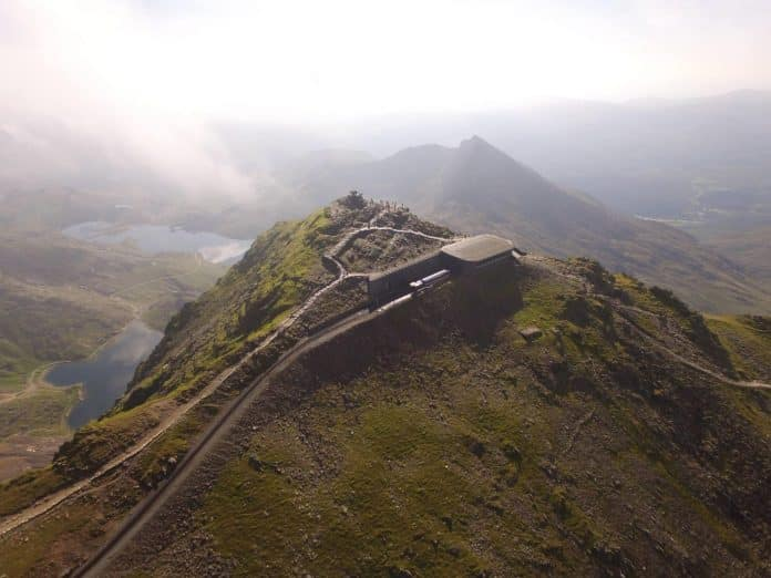 Snowdon Mountain Railway // Credit Cameradrone Facebook Page
