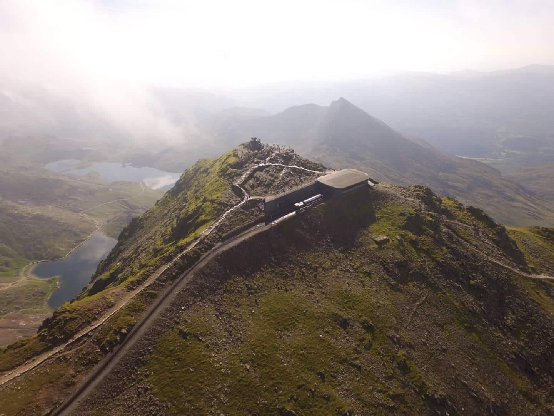 Snowdon Mountain Railway // Credit Cameradrone Facebook Page