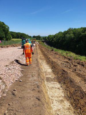 Network Rail begin prep work for Templecombe embankment