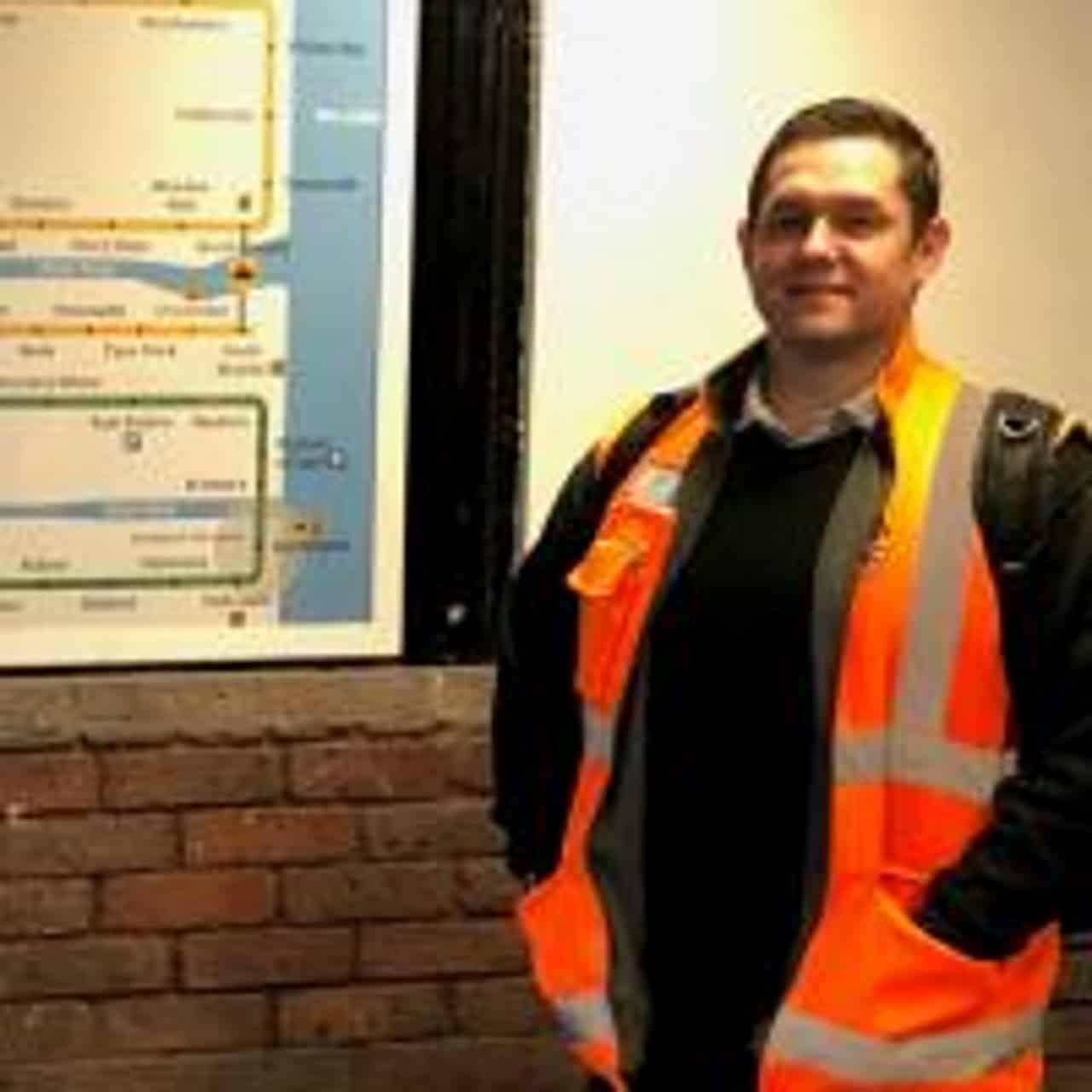 Train driver speaks of pride as he works as key worker through coronavirus crisis
