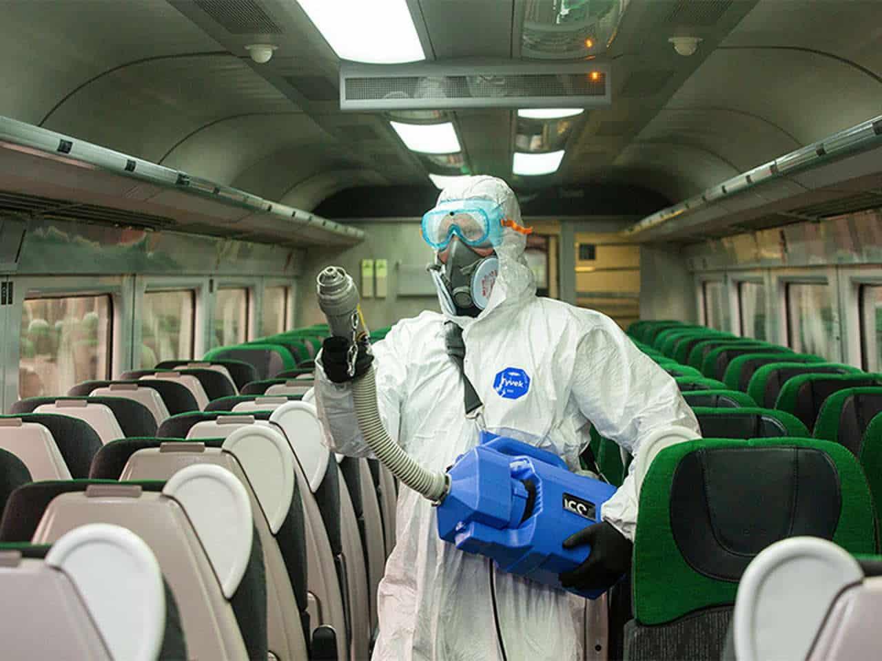 Great Western Railway Sanitiser