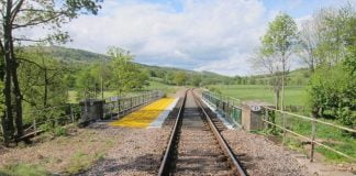 walkers in Whitby to stay off railway