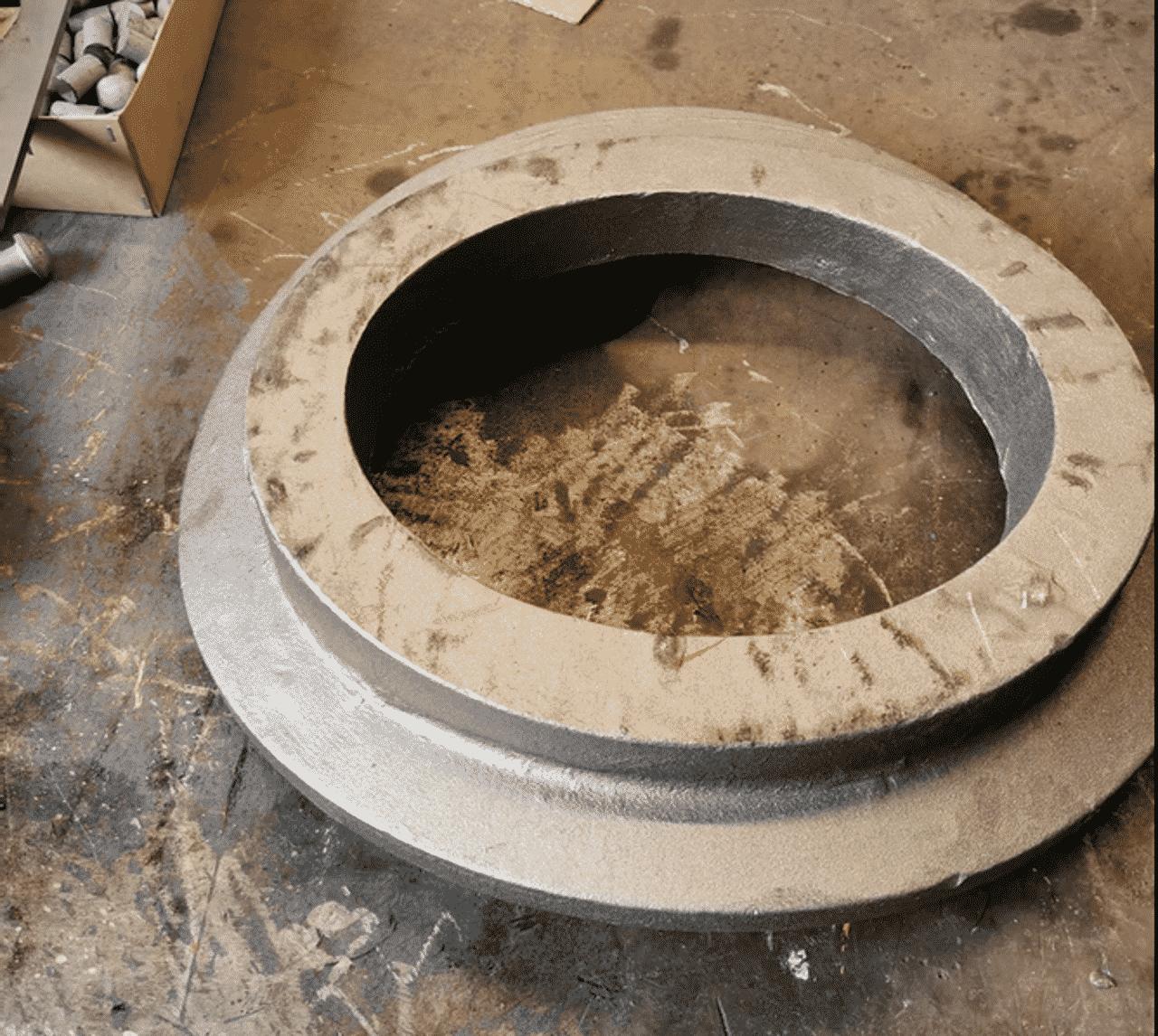 1014 County of Glamorgan safety valve base