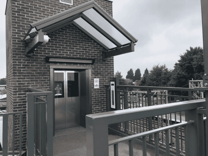 New lifts at Lichfield Trent Valley