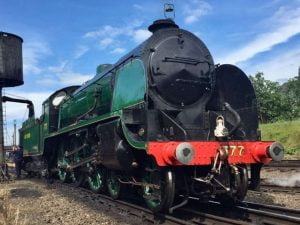 777 Sir Lamiel at the Great Central Railway