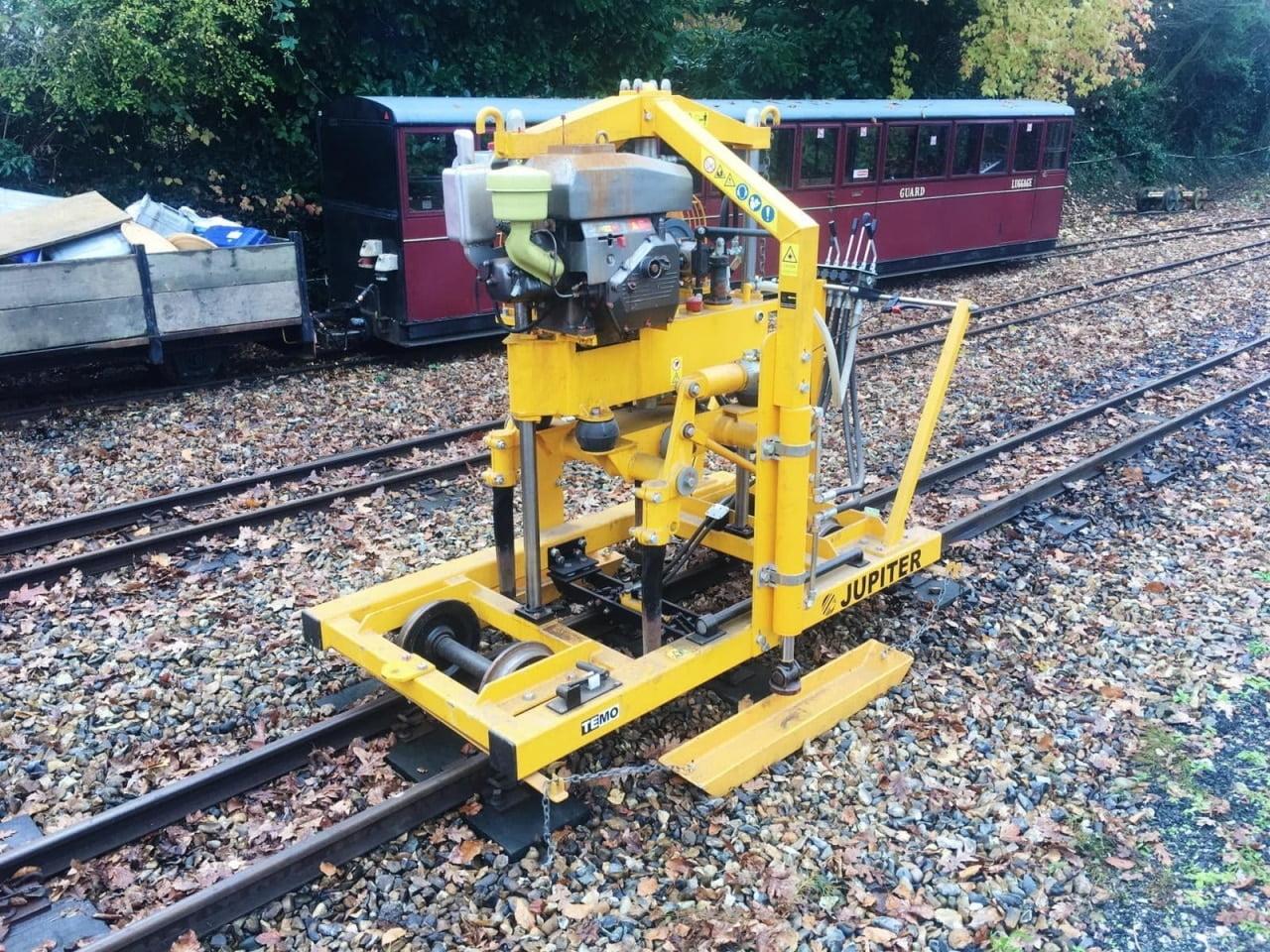 Bure Valley Railway Tamper