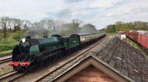 777 Sir Lamiel on the Great Central Railway
