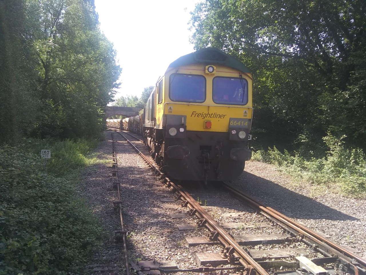 66414 setting back at Allerford