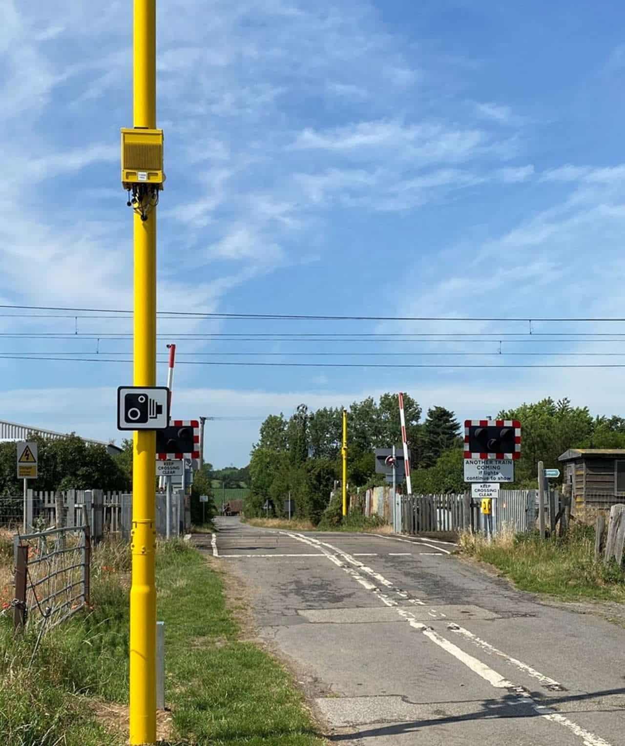 Baylham level crossing