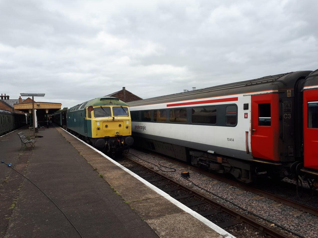 Mid Norfolk Railway applies to run regular train services