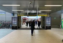 Digital Displays // Credit MerseyRail