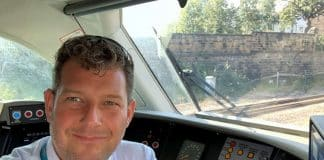 Driver Simon Powell who chased the children off the tracks (002)