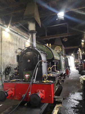 No 4 Edward Thomas at Pendre Shed