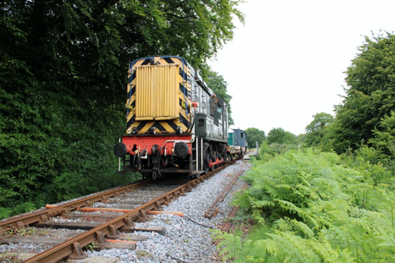 First engineer trains run on South Devon Railway