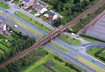 Rainford bypass bridge
