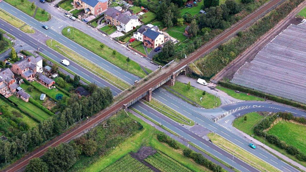 Rainford Bypass Railway Bridge St Helens