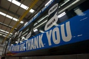 Great Western Railway unveils thank you livery
