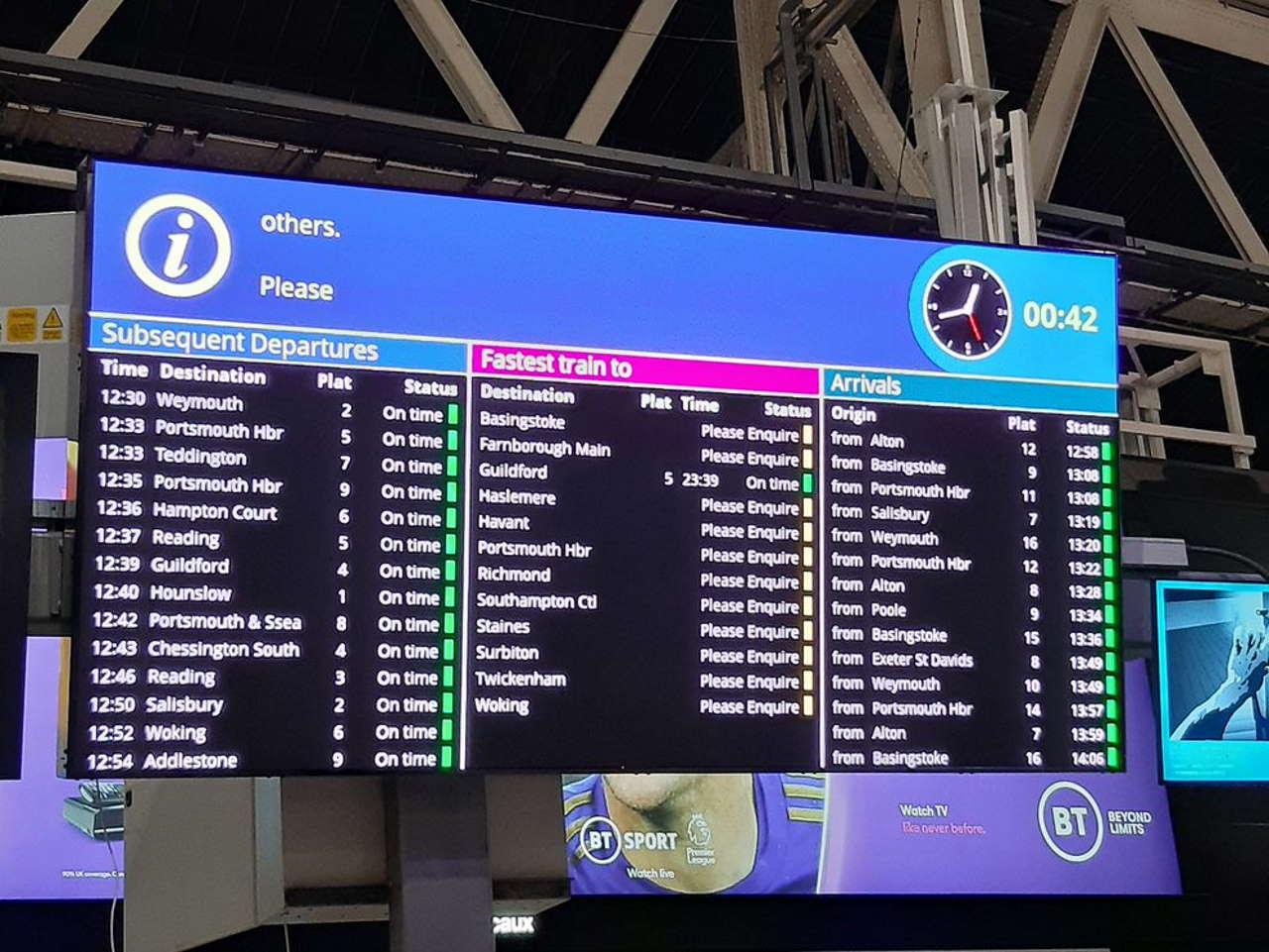 Waterloo LED screens