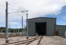 Tyne and Wear Metro depot approaches completion