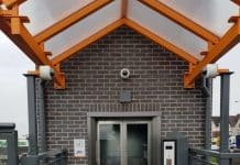 new lift at stechford station in Birmingham