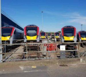 Greater Anglia bi mode trains