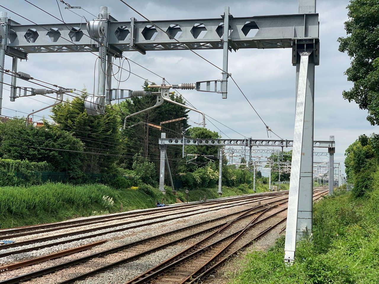 work improvments on Midlands main Line