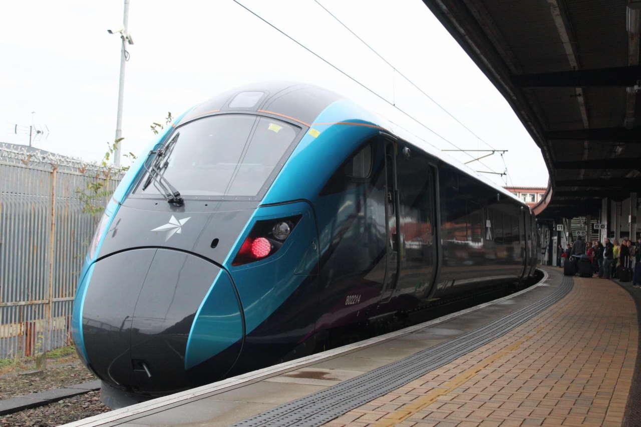 TransPennine Express Class 802 at York