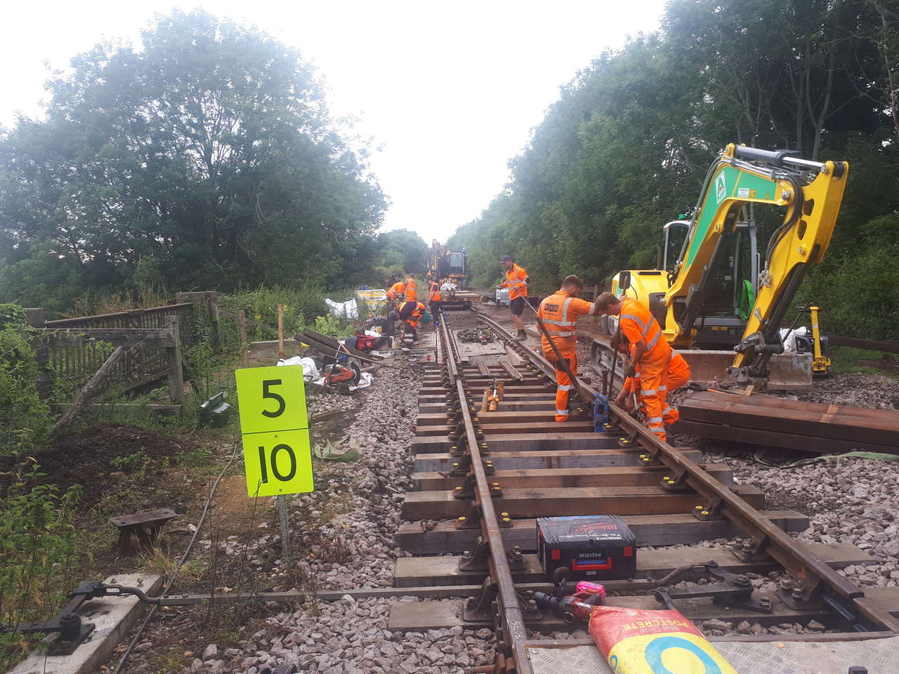 Mid Norfolk Railway resumes project work